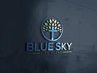 Blue Sky Life Plans Logo - Entry #435