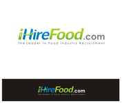 iHireFood.com Logo - Entry #105