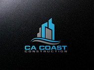 CA Coast Construction Logo - Entry #234