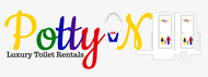 Potty On Luxury Toilet Rentals Logo - Entry #66