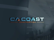 CA Coast Construction Logo - Entry #131