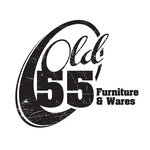 """""""OLD 55"""" - mid-century vintage furniture and wares store Logo - Entry #199"""