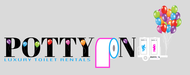 Potty On Luxury Toilet Rentals Logo - Entry #85