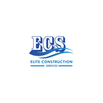 Elite Construction Services or ECS Logo - Entry #248