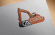CA Coast Construction Logo - Entry #209