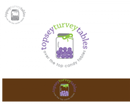 Topsey turvey tables Logo - Entry #105