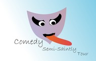 The Semi-Saintly Comedy Tour Logo - Entry #3