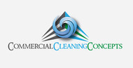 Commercial Cleaning Concepts Logo - Entry #84