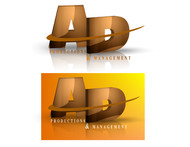 Corporate Logo Design 'AD Productions & Management' - Entry #127