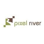 Pixel River Logo - Online Marketing Agency - Entry #110