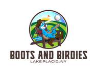 Boots and Birdies Logo - Entry #66