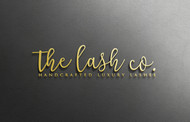 the lash co. Logo - Entry #72