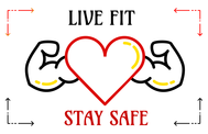 Live Fit Stay Safe Logo - Entry #260
