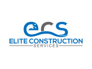 Elite Construction Services or ECS Logo - Entry #350