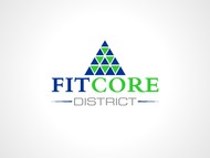 FitCore District Logo - Entry #158
