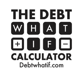 The Debt What If Calculator Logo - Entry #87