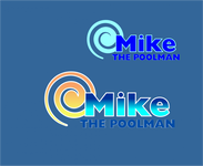 Mike the Poolman  Logo - Entry #94