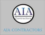 AIA CONTRACTORS Logo - Entry #130