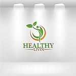 Healthy Livin Logo - Entry #304
