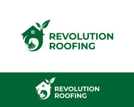 Revolution Roofing Logo - Entry #545