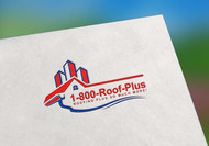 1-800-Roof-Plus Logo - Entry #111