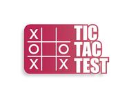 TicTacTest Logo - Entry #62