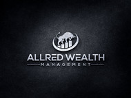 ALLRED WEALTH MANAGEMENT Logo - Entry #860