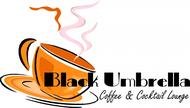 Black umbrella coffee & cocktail lounge Logo - Entry #92