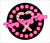 Topsey turvey tables Logo - Entry #104