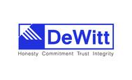 """""""DeWitt Insurance Agency"""" or just """"DeWitt"""" Logo - Entry #128"""