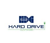 Hard drive garage Logo - Entry #354