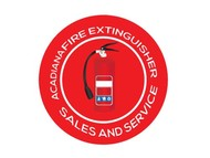 Acadiana Fire Extinguisher Sales and Service Logo - Entry #318