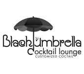 Black umbrella coffee & cocktail lounge Logo - Entry #204