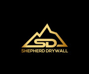 Shepherd Drywall Logo - Entry #185