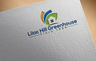 Lilac Hill Greenhouse Logo - Entry #104