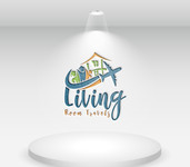 Living Room Travels Logo - Entry #39