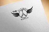 The Flying V Ranch Logo - Entry #8