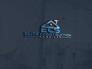 Elite Construction Services or ECS Logo - Entry #115