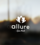 Allure Spa Nails Logo - Entry #15