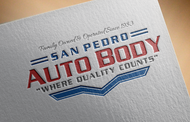 San Pedro Auto Body Logo - Entry #114