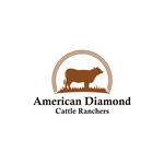 American Diamond Cattle Ranchers Logo - Entry #172