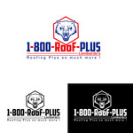 1-800-Roof-Plus Logo - Entry #28