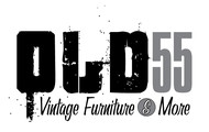 """""""OLD 55"""" - mid-century vintage furniture and wares store Logo - Entry #240"""