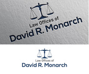 Law Offices of David R. Monarch Logo - Entry #18