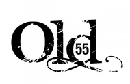 """""""OLD 55"""" - mid-century vintage furniture and wares store Logo - Entry #64"""
