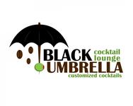 Black umbrella coffee & cocktail lounge Logo - Entry #169