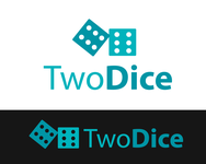Two Dice Logo - Entry #42