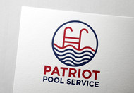 Patriot Pool Service Logo - Entry #4