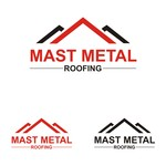 Mast Metal Roofing Logo - Entry #323