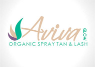 AVIVA Glow - Organic Spray Tan & Lash Logo - Entry #120